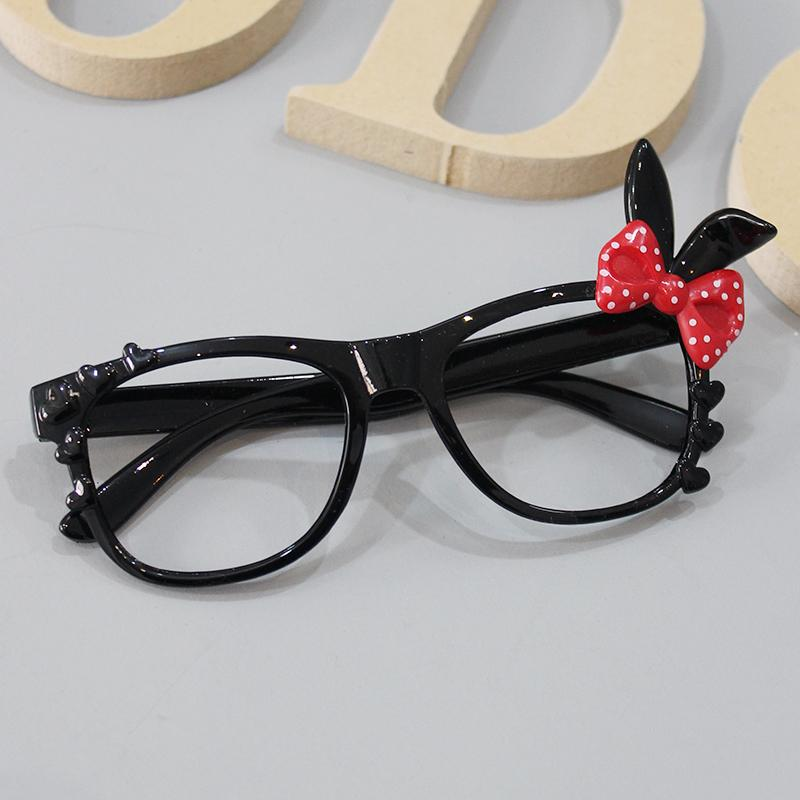 Anak-anak bingkai kacamata wanita Imut pasang Petpet dekorasi kacamata  Putri Gaya Korea Kartun Tanpa e94c04e0c2