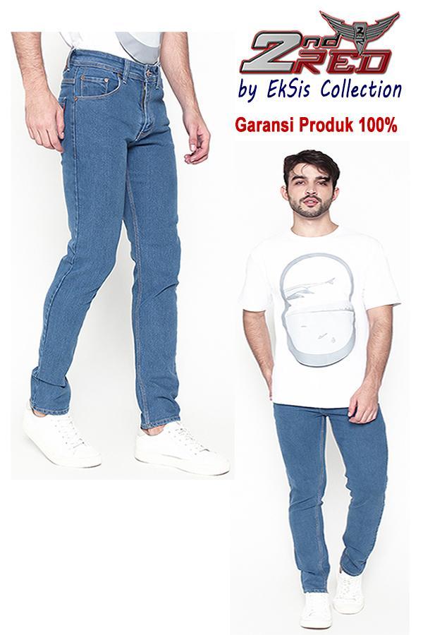 Celana jeans panjang sobek ripped best sellerIDR110000. Rp 118.150