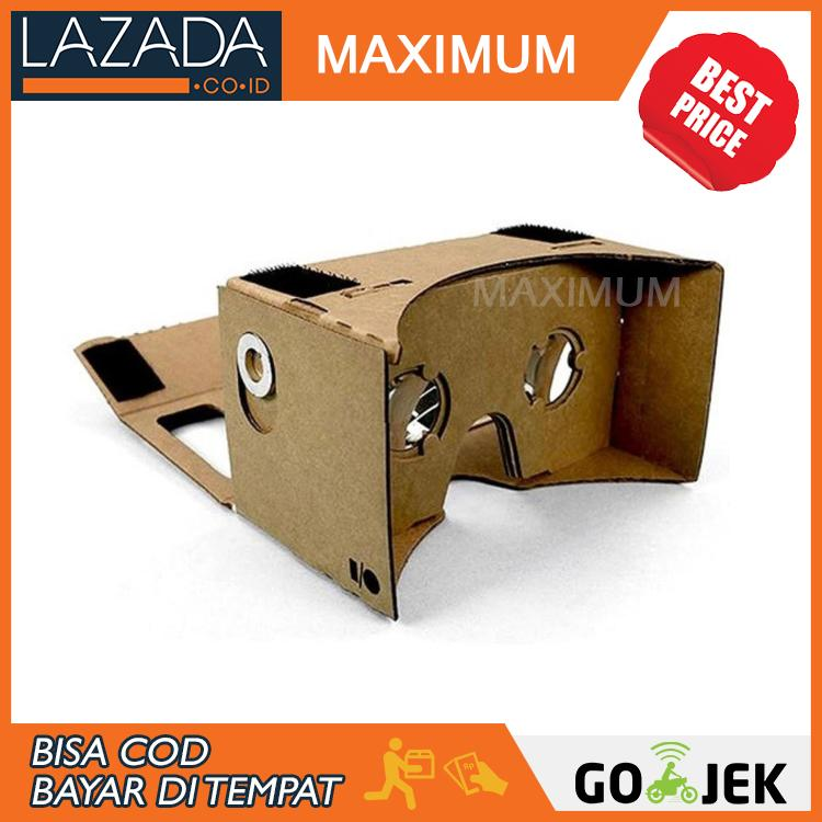 Cardboard Virtual Reality Large Size for Smartphone up to 6 Inch