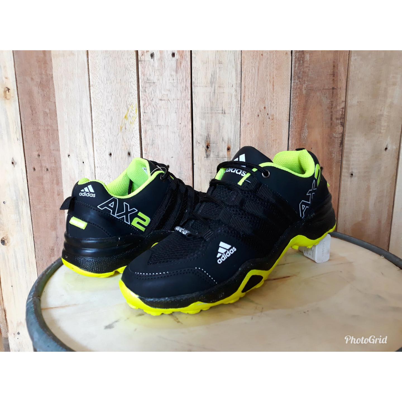 sepatu olahraga sport adidas ax2 lari jogging runing senam gym fitnes pria kerja santai berkualitas
