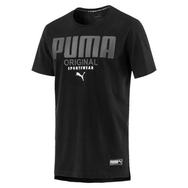 Puma kaos olahraga Athletics Tee - 85233201 - hitam ce3f1f0ce