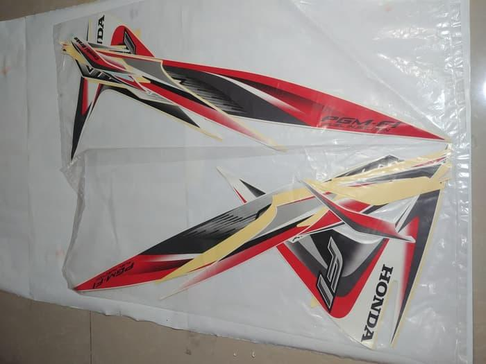 Stiker Bodi & Lis Body & Striping Vario Fi 110 2014 Put