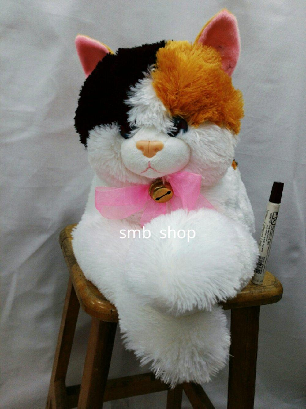 Bonek Kucing Cantik Banget Ada Lonceng Besar   sinar makmur boneka  tomypanjie 02adcb5fd0