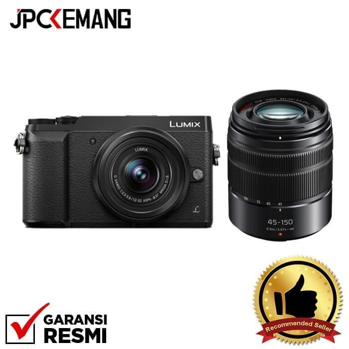 Panasonic Lumix GX85 kit 12-32mm + 45-150mm OIS jpckemang GARANSI RESMI