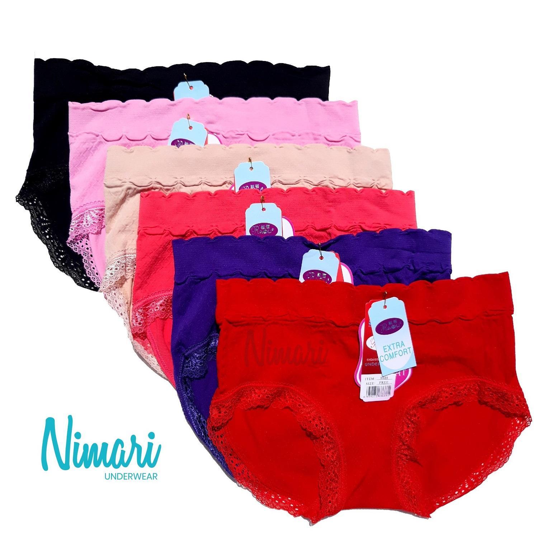Munafie Slimming Pant Celana Korset Grand A Mode In Jepang Warna A147 Hitam Berry Original Pants 5 Pendek Beige 1968853
