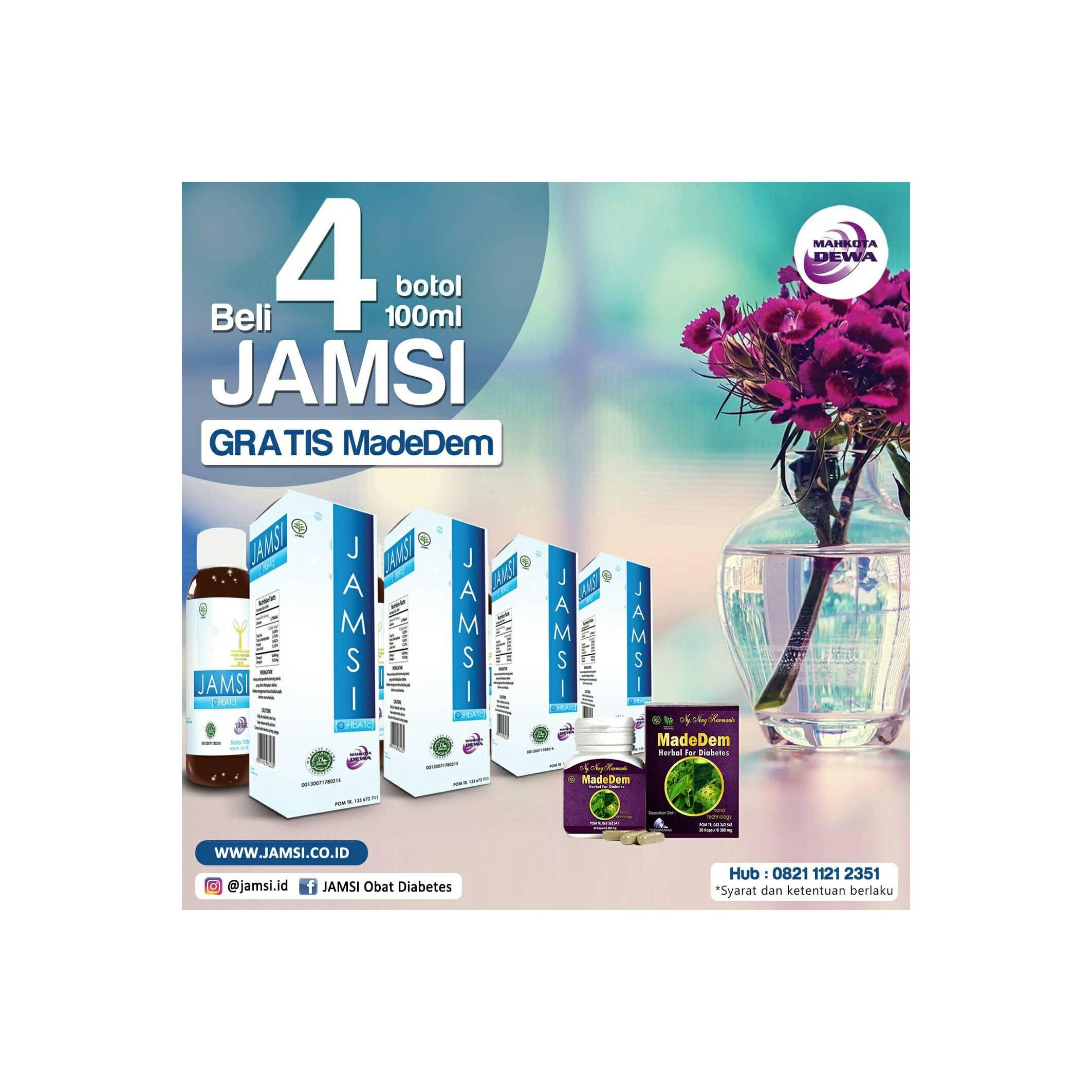Buy Sell Cheapest Promo Jamsi 100ml Best Quality Product Deals 500ml 4 Gratis 1 Madedem