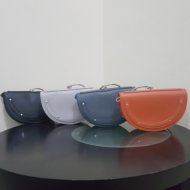 Jual Produk Miniso Terbaru Tas Selempang Wanita Semicircle Crossbody Bag Setengah Lingkaran