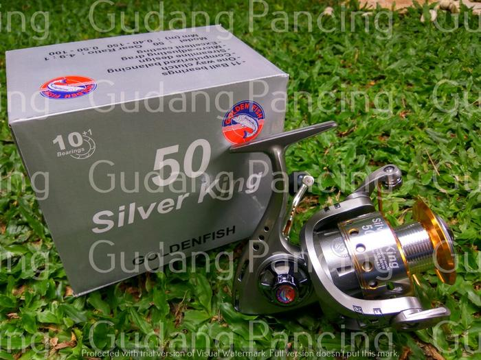Reel Golden Fish Silver King 50