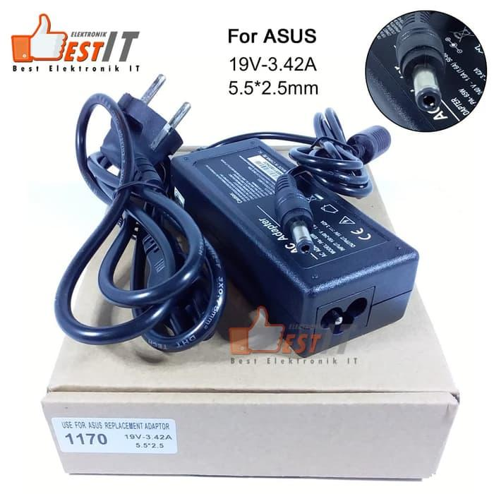 Terbaru!! Adaptor / Charger Laptop Universal Asus 19V - 3.42A (5.5*2.5Mm) 1170 - ready stock