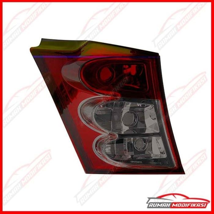 LAMPU STOP - HONDA FREED 2009-ON - RED SMOKE - CRSYTAL