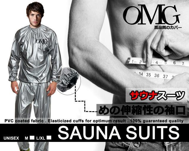 Harga Spesial!! Baju Pakaian Sauna Suit Omg Jaket Celana Olahraga Allsize Unisex - ready stock