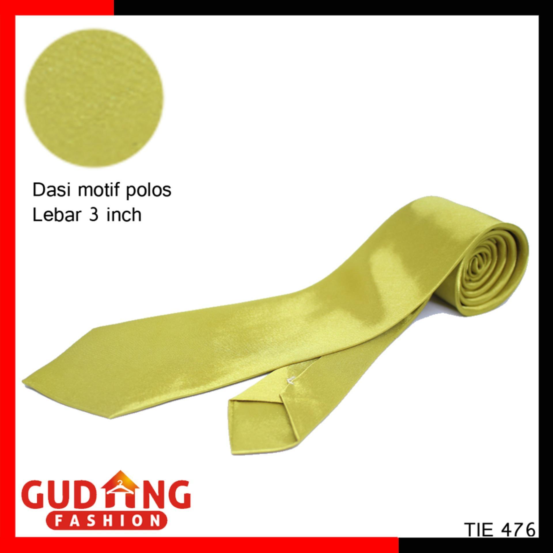 Dasi Terlengkap Murah Slim Hitam Polos Corak