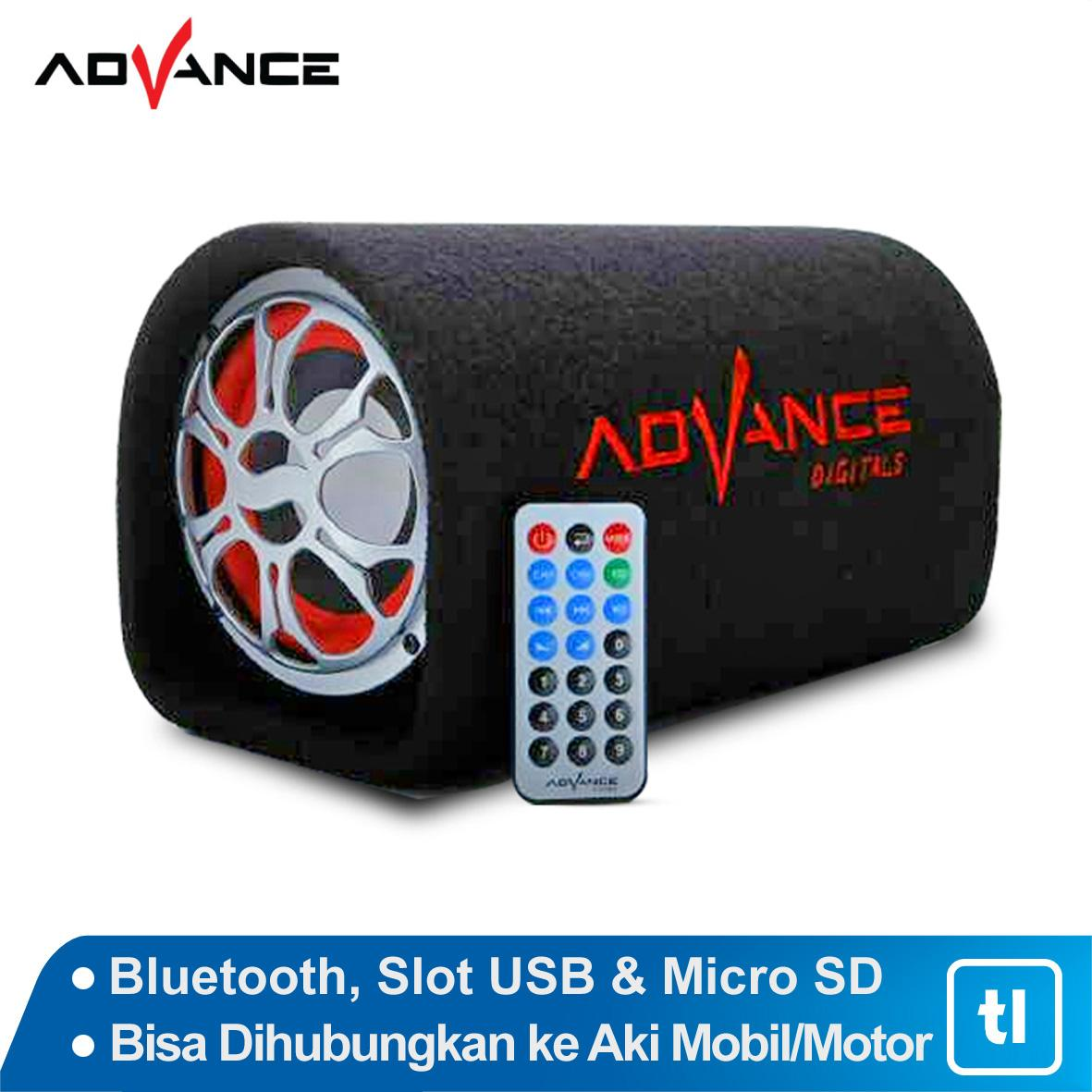 Speaker Bluetooth Portable Advance Tp600 Original Tp 600 Aktif Subwoofer 5 Inch T 101bt With Murah