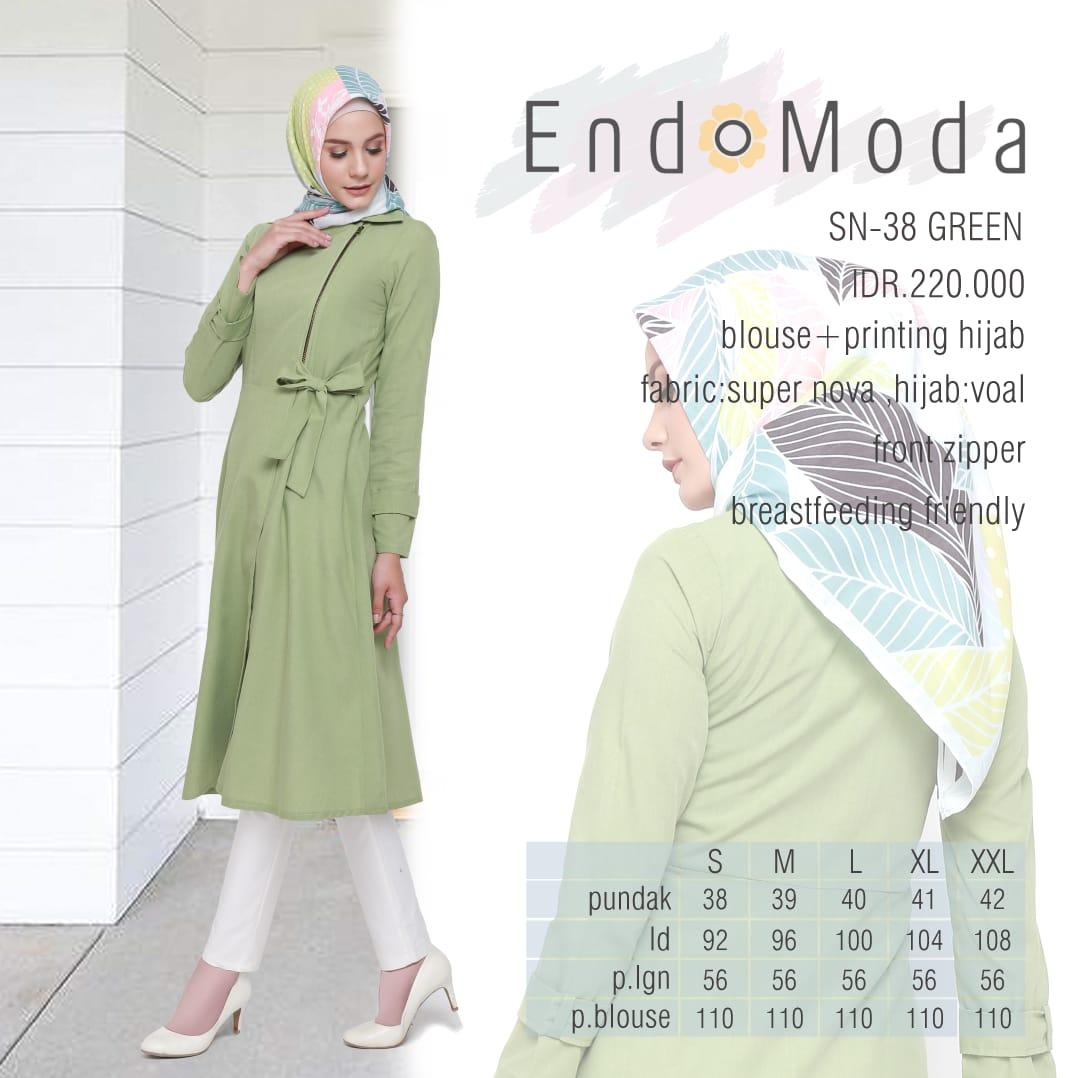 Blouse Endomoda SN 38 Green