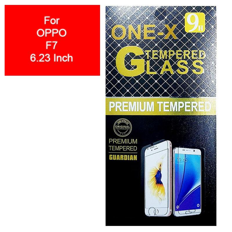 ONE-X 2.5D Rounded Tempered Glass for Oppo F7 6.23 Inch - Clear