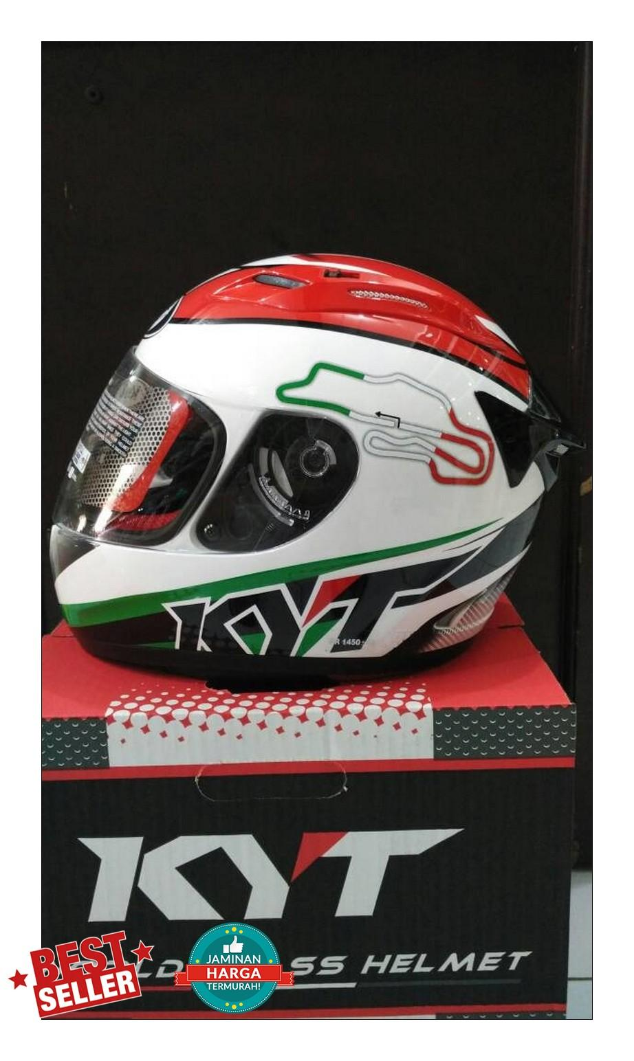 helm fullface Kyt Rc7 spain & italy series