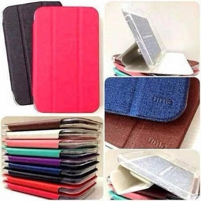 Ume FlipCover Samsung Galaxy Tab 3 V T116 Flip Shell / Leather Case / Sarung Tablet - Gold