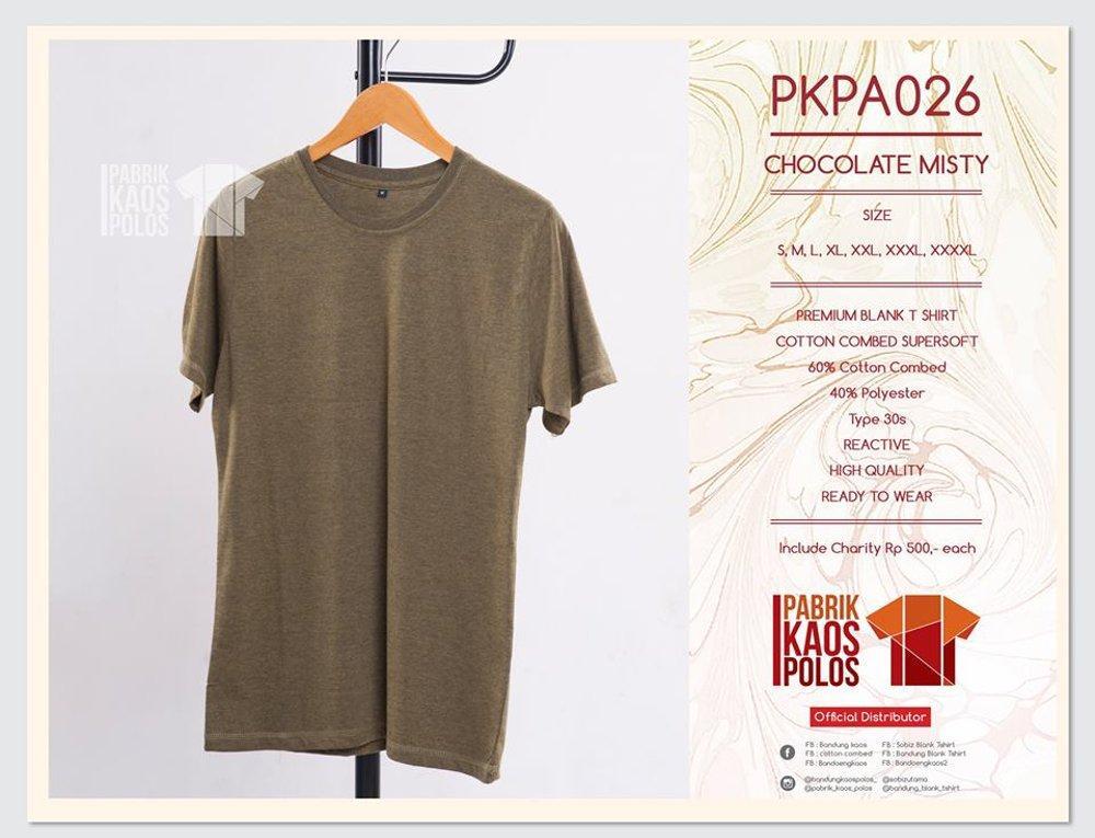 Kami jual kaos polos standar DISTRO bahan cotton combed 30s READY STOCK di lapak Pabrik Kaos Polos bandungblanktshirt