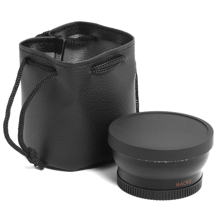 Promo LF036. Lensa wide / 45x Super Wide Angle Lens 52mm for Nikon D5100 D32 original
