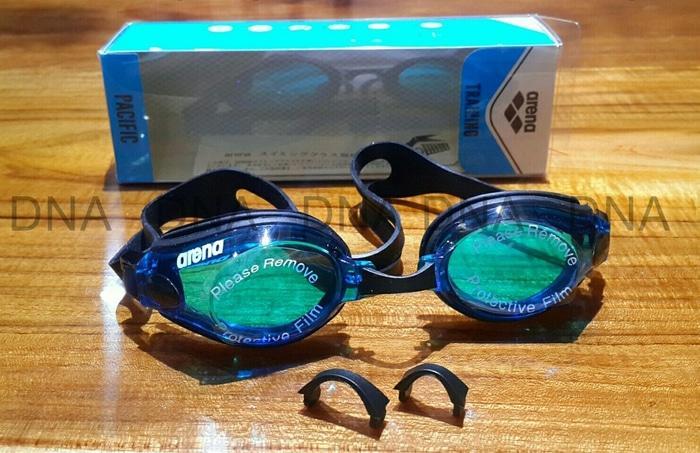 ASLI!!! Kacamata Renang ARENA PACIFIC AGG-570 DBU/FREE - ORIGINAL - thDEjE