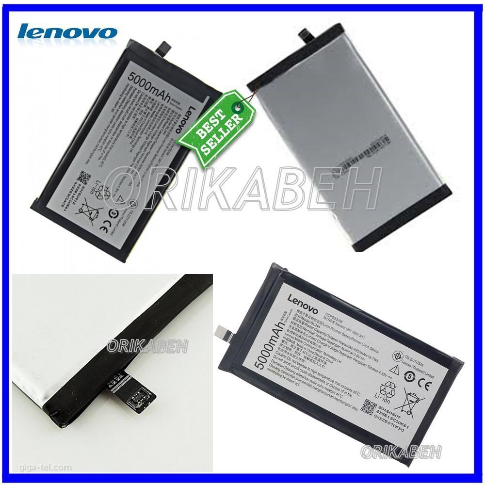 Lenovo Baterai / Battery BL244 Original For Lenovo Vibe P1 Kapasitas 5000mAh ( orikabeh )