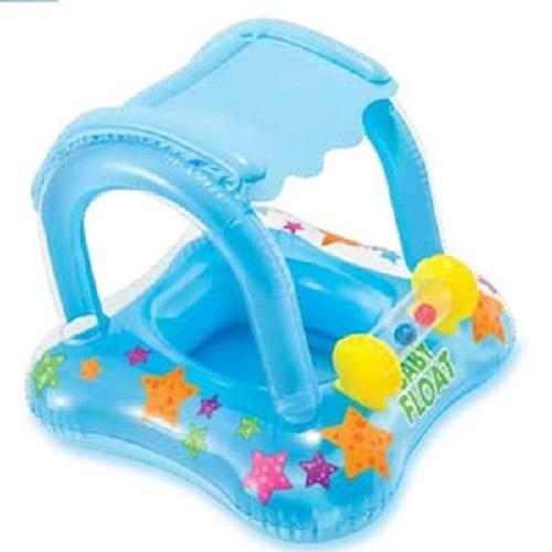 Intex My Baby Float Boat Usia 1-2 Thn (Biru) Ban Pelampung Renang