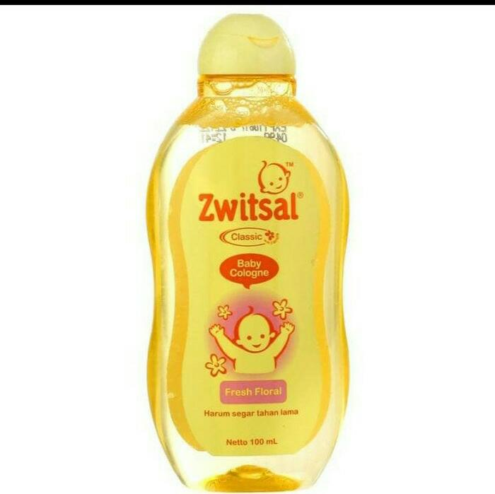 Zwitsal Baby Cologne Classic Klasik Fresh Floral 100ml