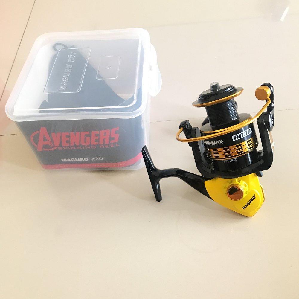 Reel Maguro Avengers 5000 TERBARU BOS PANCING zerya_fishing