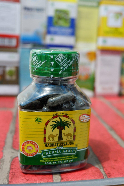 Beli Ajwa Herbal Store Marwanto606 Habbatussauda Kurma 120 Kapsul Cap 100