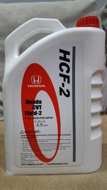 Oli Matic Mobil Honda tipe CVT Fluid-2 / HCF-2 Original