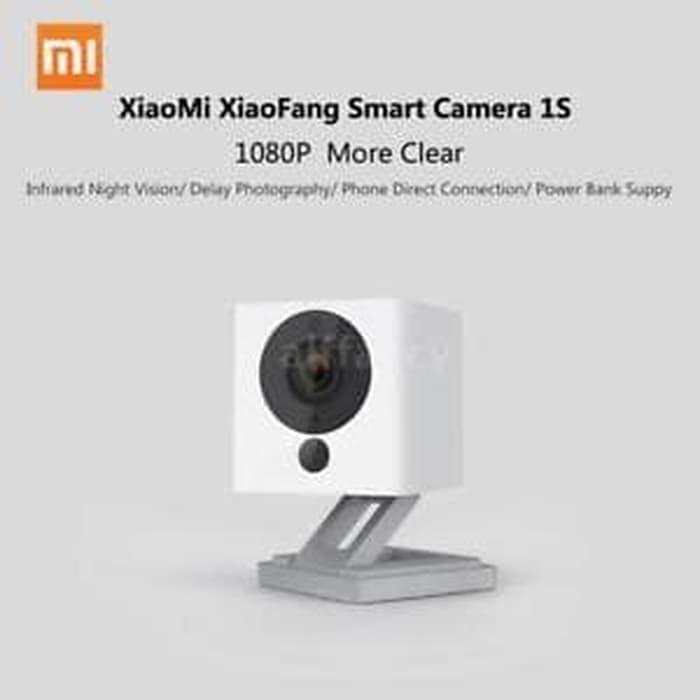 Harga Spesial!! Xiaomi Xiaofang Cctv Ip Camera 1080P U002F Kamera Ir Night Original - Putih - ready stock
