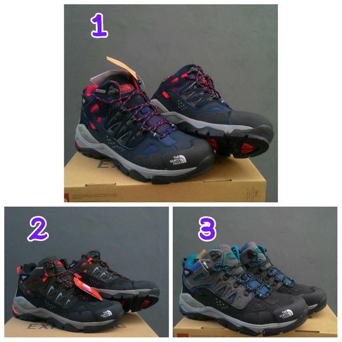 sepatu the north face original sepatu gunung karrimor playboy snta
