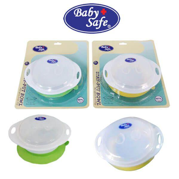 Arsyad Babyshop - Baby Safe Mangkuk Makan Bayi Anti Slip - Stay Put Bowl