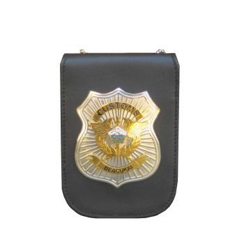 Penjualan Leather Castle ID Card Holder Bea Cukai terbaik murah - Hanya Rp124.470