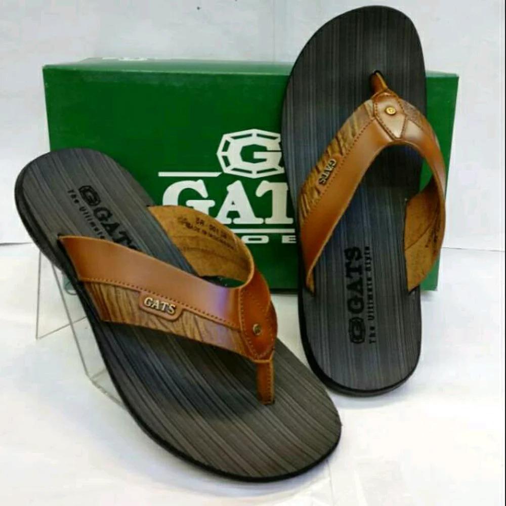 Sandal Kulit Gats SR 001 - TAN