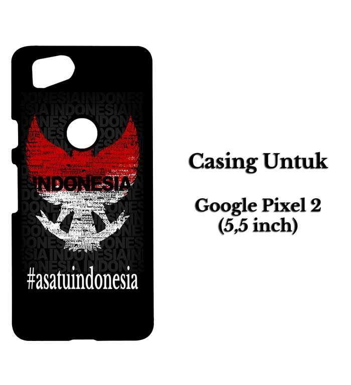 Casing HP GOOGLE PIXEL 2 Garuda satu indonesia Hardcase Custom Case Snitchshop