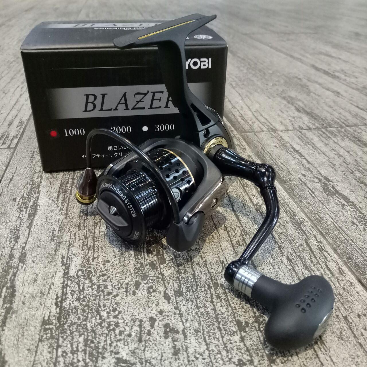 Reel Pancing Ryobi Blazer 4000 8 Ball Bearing