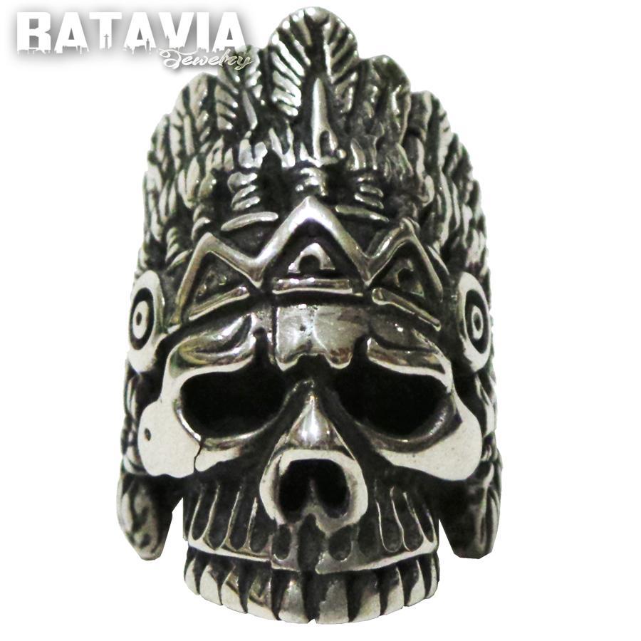 NEW Promo Perhiasan Skull ring cincin tengkorak Indian Skull Murah