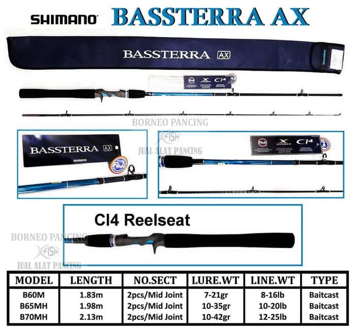 Stik Shimano BASSTERRA AX B-70MH
