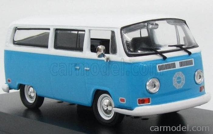 TERLARIS Greenlight 1/43 Dharma Van 1971 Volkswagen Type 2 Lost Series
