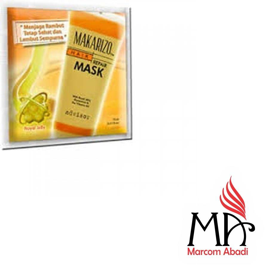 Makarizo Mk3 Refresh Rebonding Hair Repair Masker Lembut Rambut Professional Color Revive Gloss Mask 80 Gr