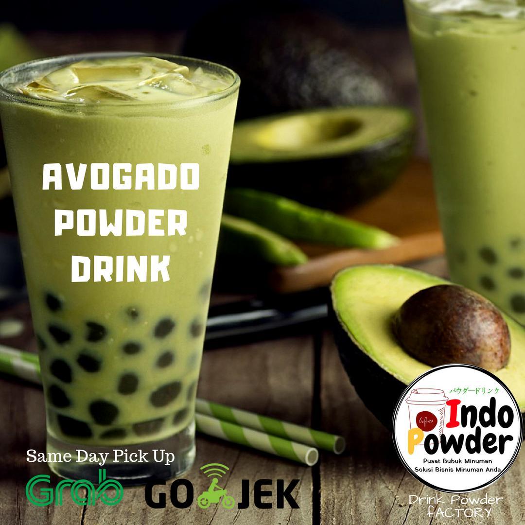 Bubuk Minuman Rasa Avocado 1 Kg / Avocado Powder 1 Kg / Bubuk Minuman Avocado 1 Kg / Bubuk Avocado 1 Kg / Powder Avocado 1 Kg By Indopowder.