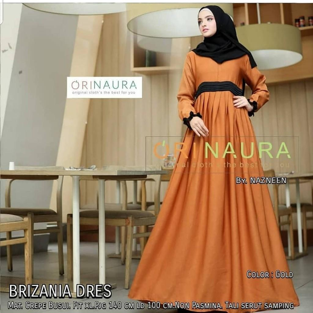 JAKARTA GROSIR -  brizania dress st Fashion Dress / Atasan / Tunik / size M, L dan XL