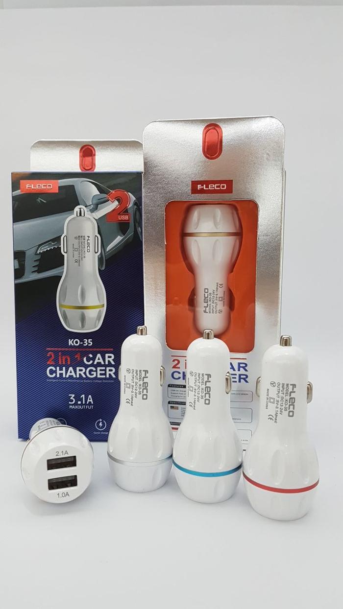 Charger Mobil Saver Vivan Robot 1a2a Micro Cable Daftar Car Hippo Alf Vp 2 Usb 24 A Garansi Resmi Promo Fleco Ko 35 Original