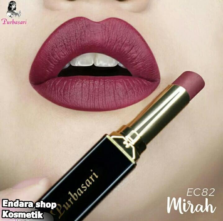 Endara lipstik purbasari matte No. 81-82