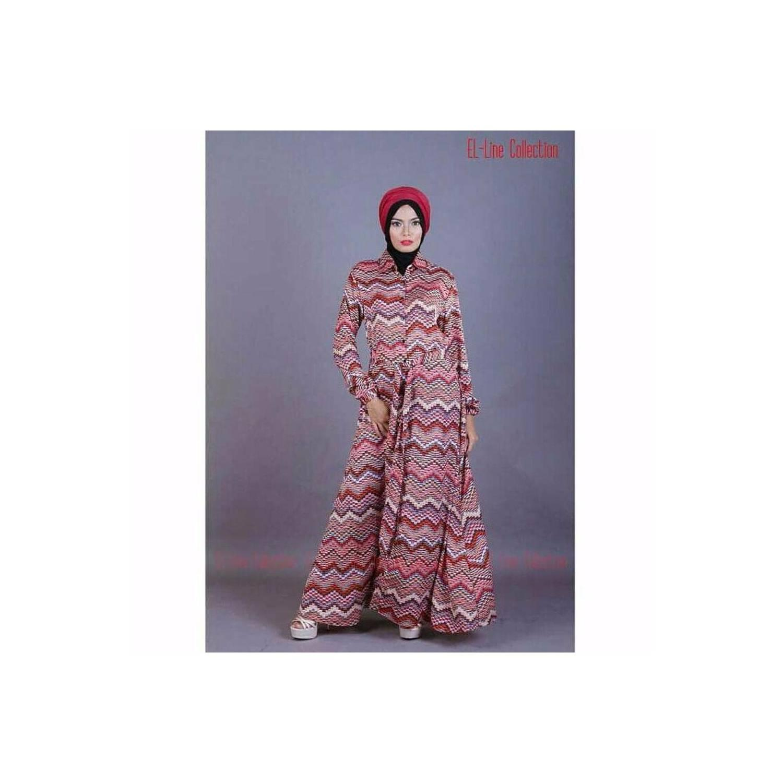 Baju Muslim Tribal Long Dress BEST MODEL