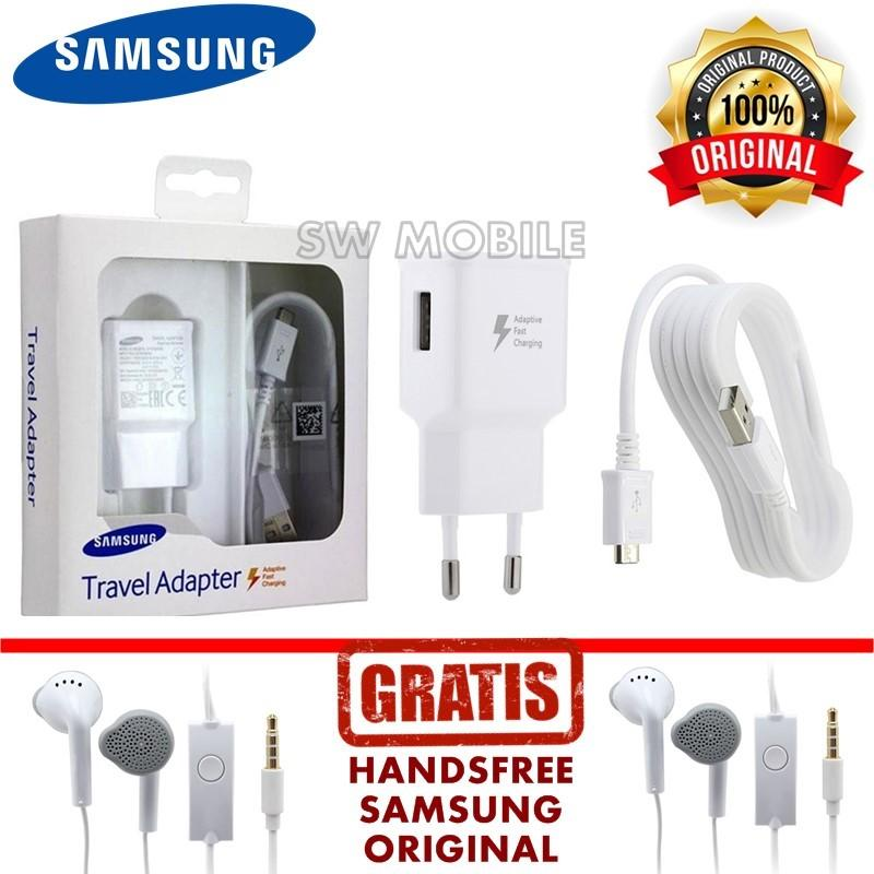 Samsung Travel Charger Adaptive Fast Charging 15W Micro USB Cable Original  - GRATIS! bf9a19302b