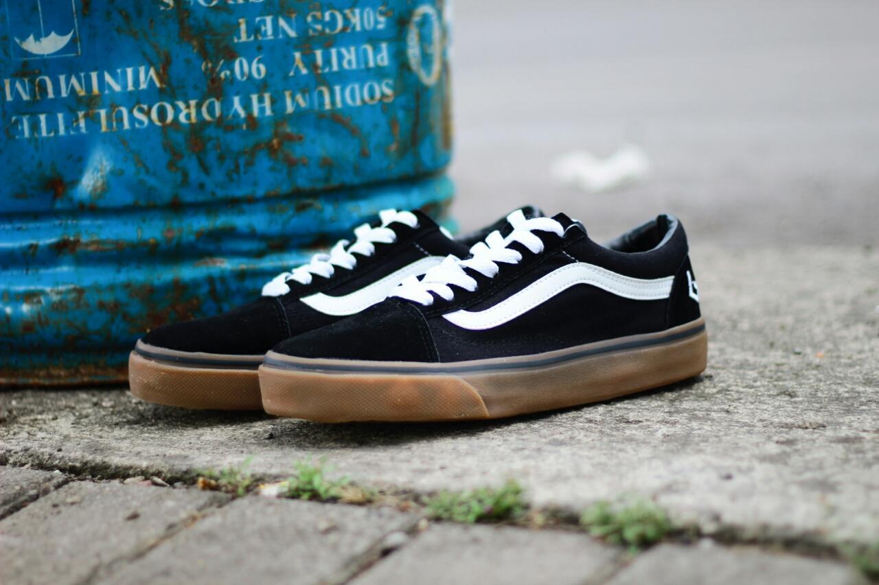 Sepatu Casual Skate Pria Vans OldSkool Golf Wang / Sneakers
