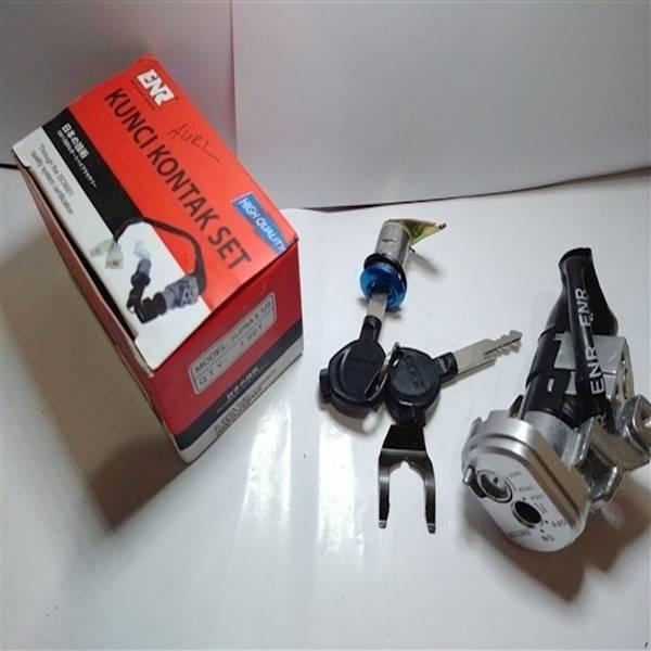 Kunci Kontak Supra X 125 Set Jok Kw Merk ENR