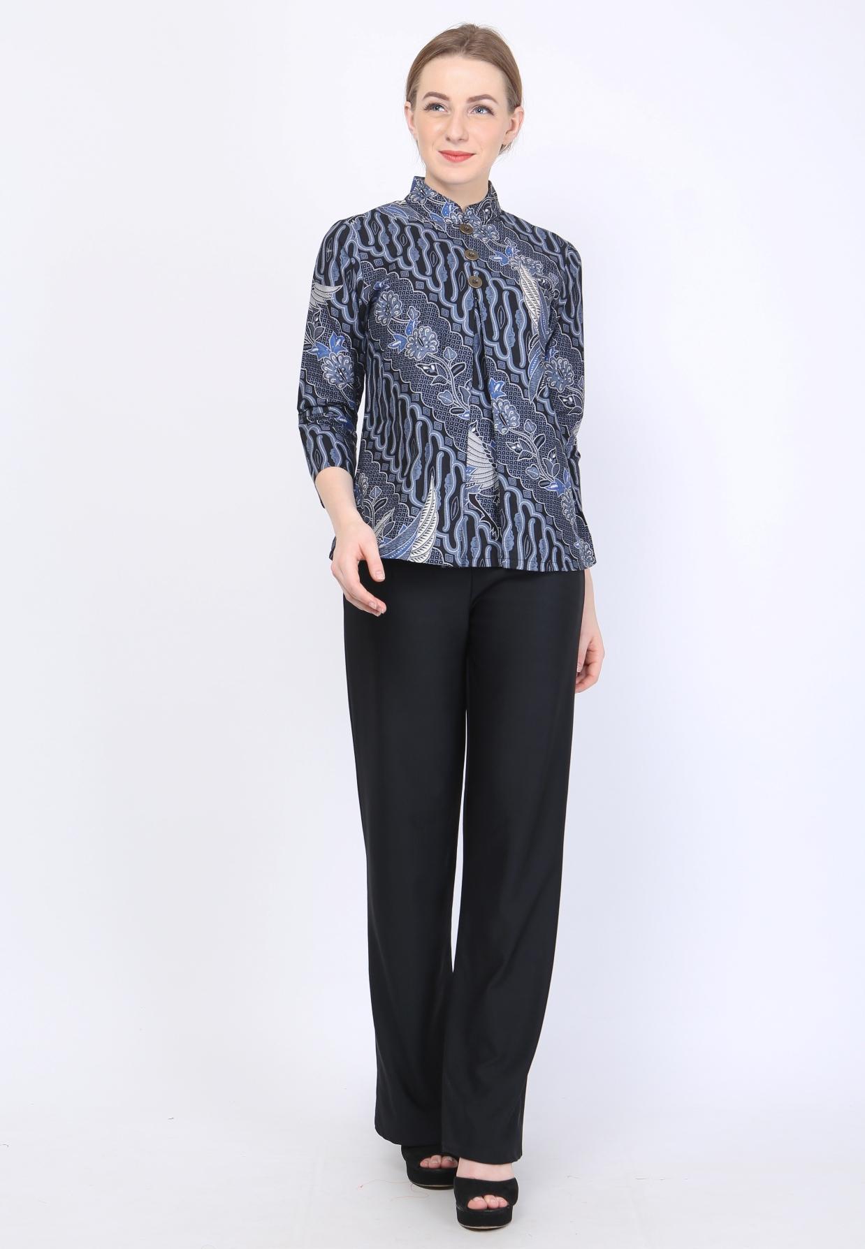 Buy Sell Cheapest Zahra Blouse Best Quality Product Deals Baju Atasan Wanita Keisha Adinata Batik Adelle Lengan Panjang